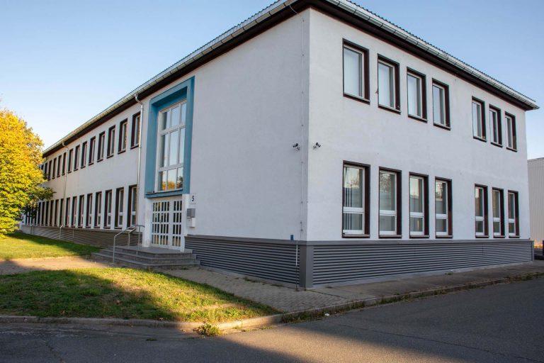 Büroflächen Bürogebäude Stern Gewerbepark Rochlitz